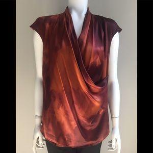 MaxMara Copper Drape Top 14